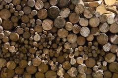 woodpile στην περιοχή μοναστηριών Στοκ Φωτογραφίες