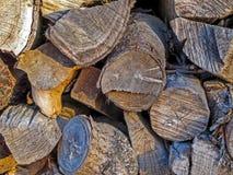 woodpile Fotografía de archivo