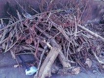 woodpile zdjęcia stock