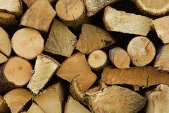 Woodpile Fotos de archivo libres de regalías