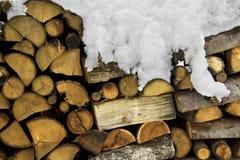 Woodpile Imágenes de archivo libres de regalías