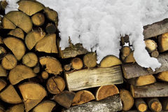 woodpile Στοκ εικόνες με δικαίωμα ελεύθερης χρήσης