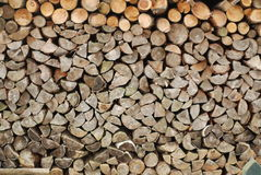Woodpile royalty-vrije stock foto's
