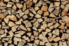 Woodpile Royalty-vrije Stock Afbeelding
