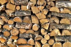 Woodpile Lizenzfreie Stockbilder