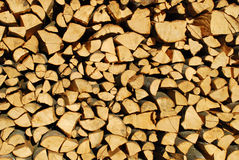Woodpile. It's a photo of a woodpile in Dolomiti, Italy, Alps Royalty Free Stock Image