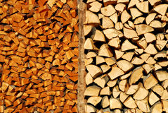 Woodpile. It's a photo of a woodpile in Dolomiti, Italy, Alps Royalty Free Stock Photo