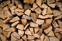 woodpile 免版税库存图片