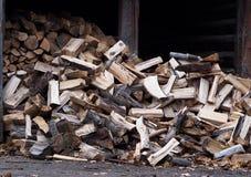 woodpile Fotografie Stock Libere da Diritti