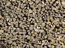 Woodpile images stock