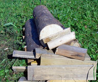 Woodpile Royalty Free Stock Photography