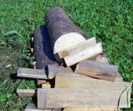 Woodpile Photographie stock libre de droits