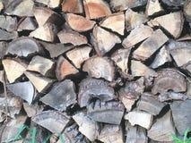 woodpile fotografia de stock