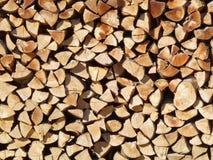 woodpile Royaltyfri Bild