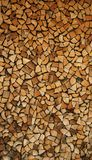 woodpile image stock