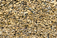Woodpile background Stock Photos