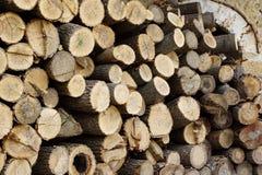 Woodpile Stock Photos