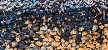 The woodpile Stock Image