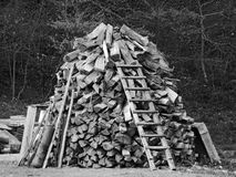 Woodpile Stock Photos