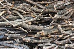 Woodpile Stock Image