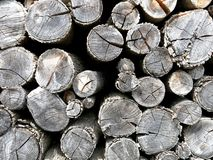 Woodpile Kindling Firewood Detail Royalty Free Stock Image