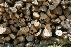 Woodpile Royalty Free Stock Photos
