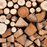 Woodpile Stock Images