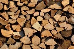 Woodpile Stock Photography