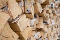 Woodpile background. Woodpile texture close up. Background royalty free stock images