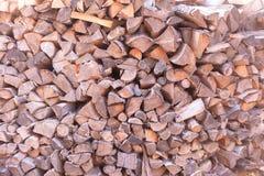 woodpile obraz stock