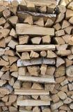 Birch firewood stock photos