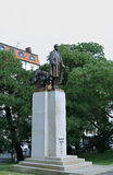 Woodrow Wilson Monument in Prague Royalty Free Stock Images