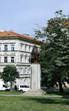 Woodrow Wilson Monument in Prague Stock Images