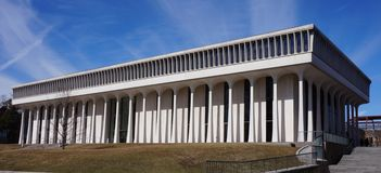 Woodrow Wilson szkoła przy uniwersytet princeton Obrazy Stock