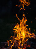woods are burning in fireplace, warm, heat, fire Stock Photos