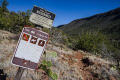 Woods Canyon Trail No. 93 Royalty Free Stock Photo