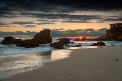Woods Cove Sunset Royalty Free Stock Image