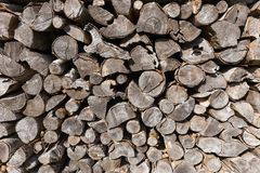 Woods logs firewoods texture shapes stock images