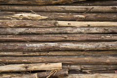 Woods pile for construction Royalty Free Stock Image