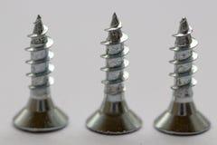 Wood screws stock photos