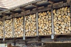 woodshed Imagem de Stock