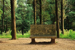 Woodside stone benches Stock Image
