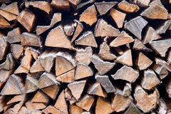 Woodstack. The woodstack background. wood textured Stock Photography