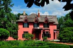 Woodstock, CT:  Коттедж 1846 Roseland Стоковые Фотографии RF