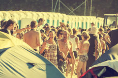 Woodstock Festival, Poland Royalty Free Stock Images