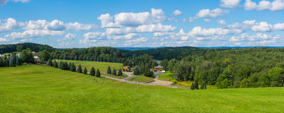 Woodstock-Panorama Lizenzfreie Stockfotos