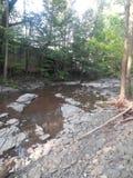 Woodstock simninghål Fotografering för Bildbyråer