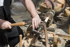 Woodturning Stock Photos