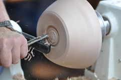 Woodturning Royalty Free Stock Photos