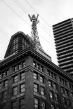 Woodward's Building in Vancouver Stock Photography
